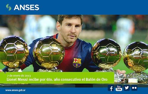 Messi /@ANSESGOB Flickr