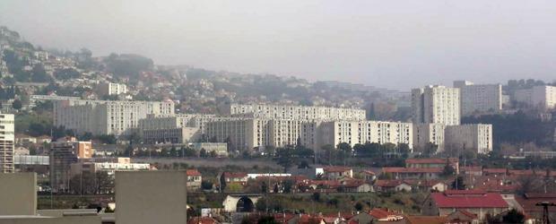 Cité de la Castellane au nord de Marseille