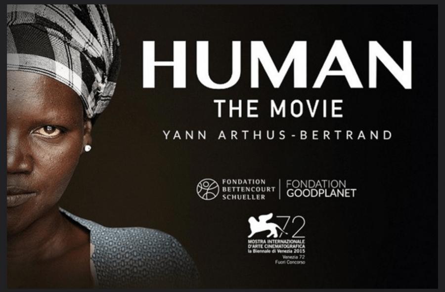 affiche de Human, le nouveau film de Yann Arthus-Bertrand