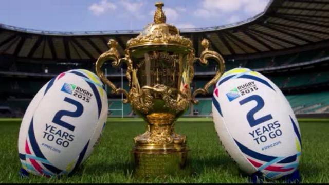 La Coupe du monde de rugby en Angleterre a commencé