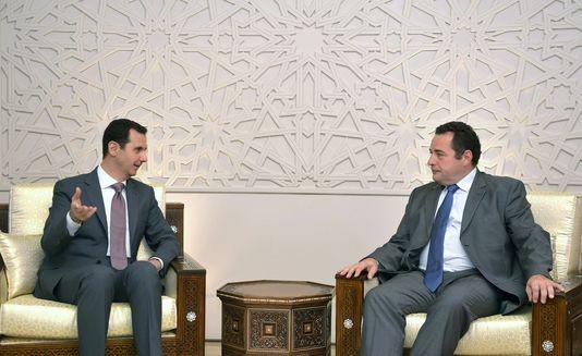Al-Assad Poisson entretien