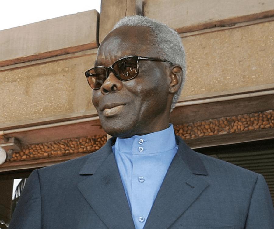 Mathieu Kérékou, ancien dirigeant du Bénin