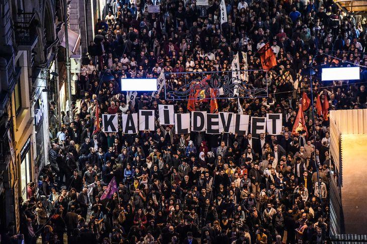 Istanbul manifestation