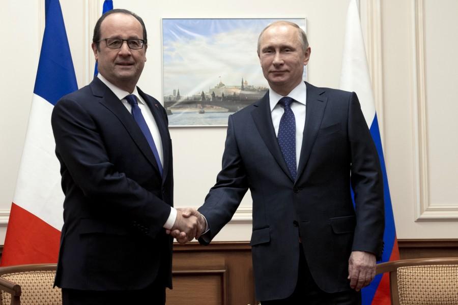 Rencontre Hollande Poutine