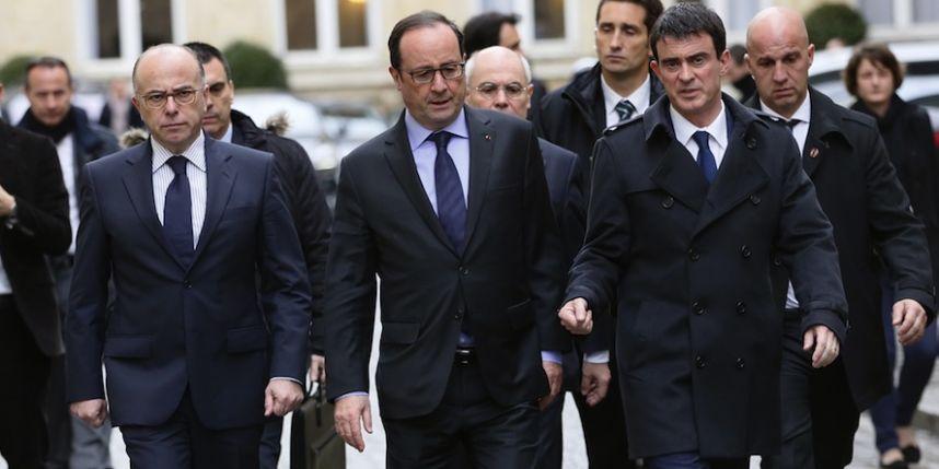 Hollande, Valls, Cazeneuve attentats 13 novembre