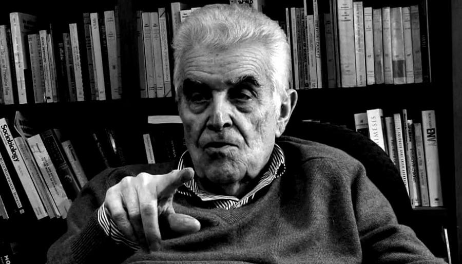 René Girard portrait
