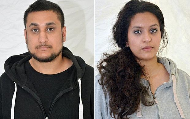 Le couple britannique condamné à perpétuité pour avoir projeté un attentat à Londres.