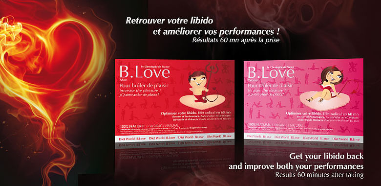 B LOVE, Retrouvez votre libido et améliorez vos performance résultats : 60 mn après la prise !