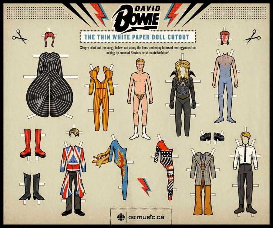 La garde robe gigantesque de David Bowie