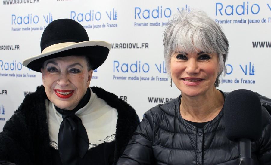 Evelyne Dress et Geneviève de Fontenay