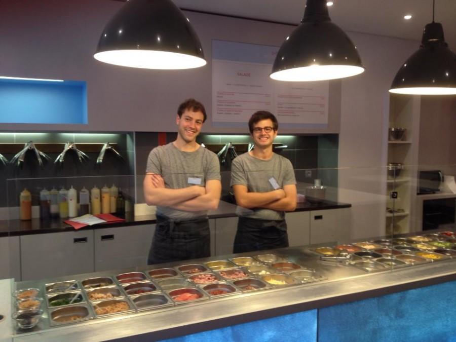 Henri et Clément, deux jeunes entrepreneurs, ont crée le nouveau bar à salade tendance de Paris : Mister Garden