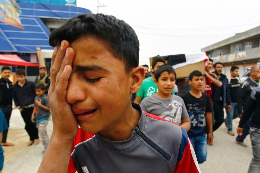 Un attentat suicide revendiqué par Daesh a fait 32 morts dont 17 enfants en Irak.