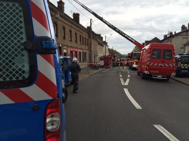 Une explosion dans un immeuble de Nonancourt a fait 4 blessés et une personne disparue