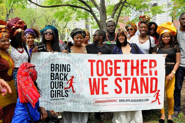 manifestation #BringBackOurGirls