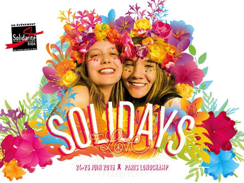 Le festival Solidays se déroulera à l'hippodrome de Longchamp du 24 au 26 juin.