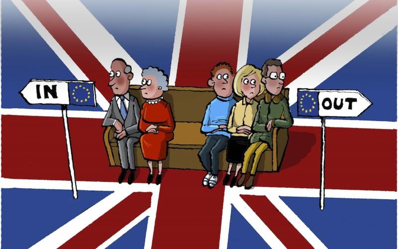 A quatre jours du réferendum sur le maintien du Royaume-Uni dans l'Union Européenne, les derniers sondages donnent le Brexit en net recul.