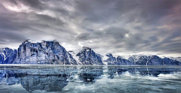 Glaciers au Canada