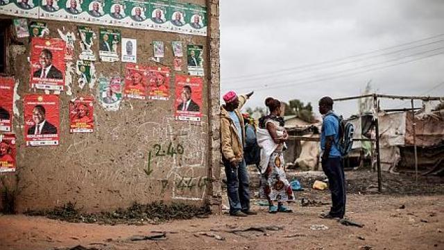 Les élections sont sous tensions en Zambie