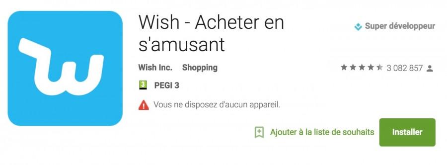 Wish Des Soldes Toute L Année wish - l'application mobile qui révolutionne le shopping