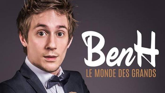 BenH au Théâtre du Marais