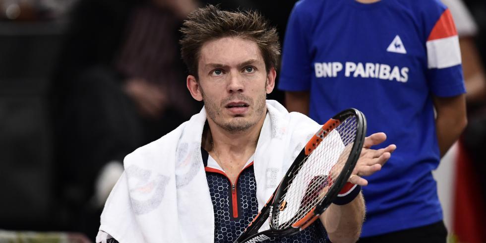 Nicolas Mahut analyse sa disqualification du BNP Paribas Masters mais se projette sur son objectif avoué pour 2017 : gagner la Coupe Davis avec la France.