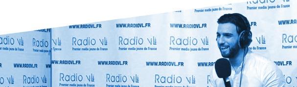 Aymeric Bonnery dans les studios Radio VL