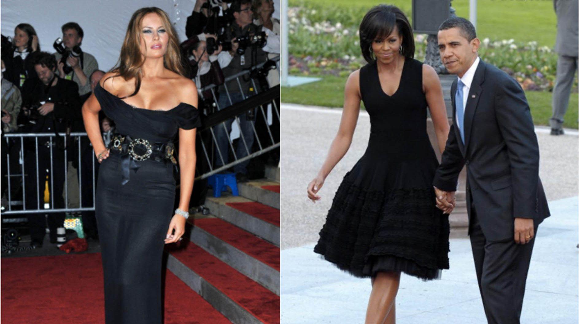 79985b5d993f Michelle Obama vs. Melania Trump   le combat des Premières Dames