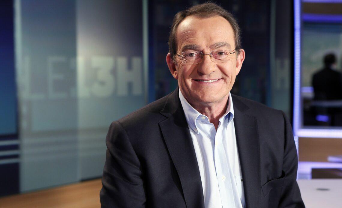 Jean-Pierre Pernaut sur le plateau du 13 heures de TF1