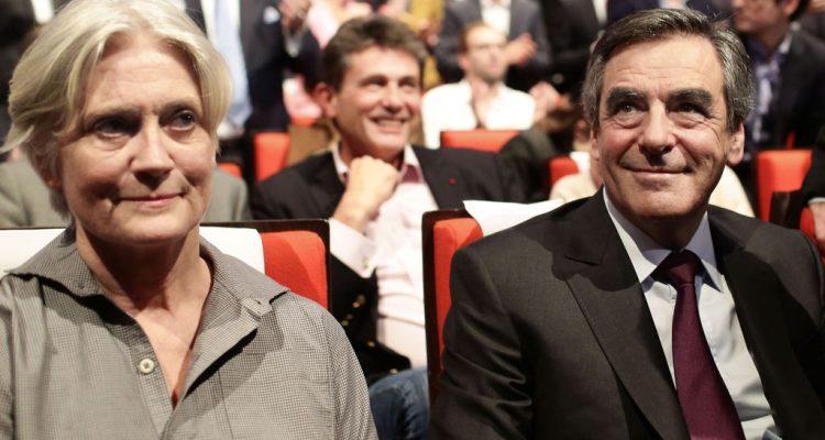 Palais Congres Meeting Au Fillon A Des Penelope Francois De rCWBdeQox