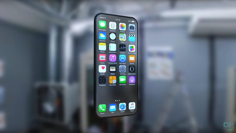 concept art iphone 8