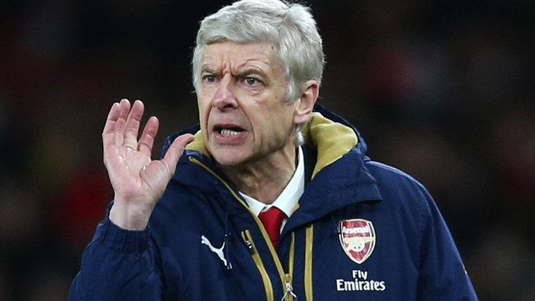Arsène Wenger, coach d'Arsenal