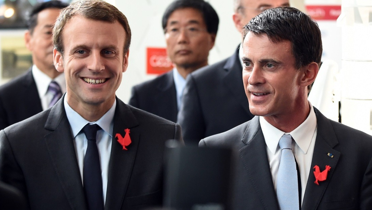 Macron - Valls