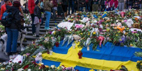 Minute de silence à Stockholm