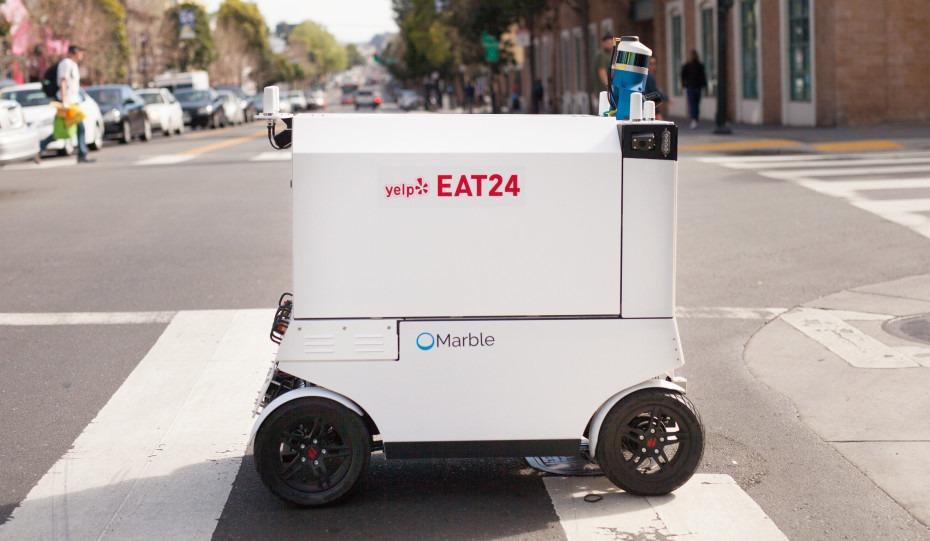 Des robots livreurs de repas