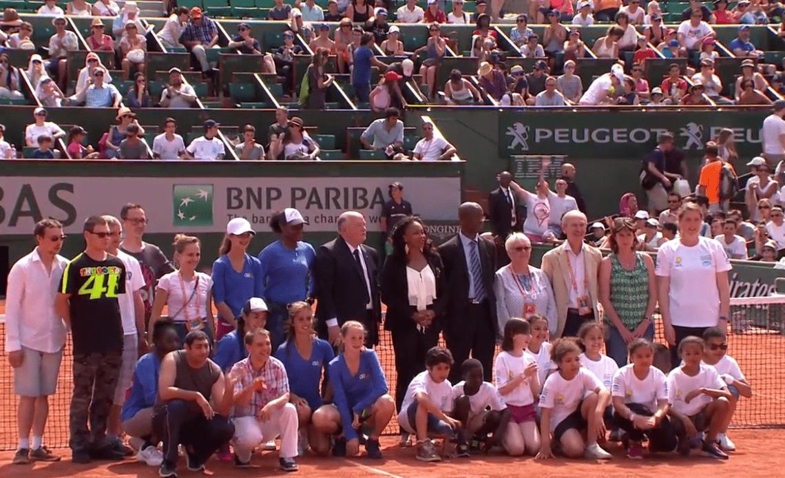 """""""Les Enfants de Roland-Garros"""" : une belle journée qui s'achève"""