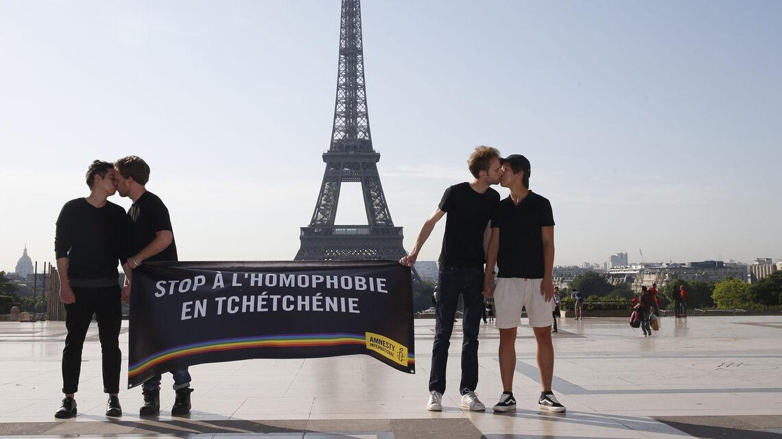 Premier homosexuel Tchétchène accueilli en France