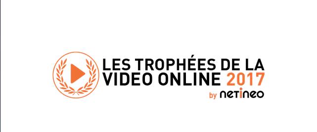 Le Palmarès 2017 des Trophées de la Vidéo Online by Netineo
