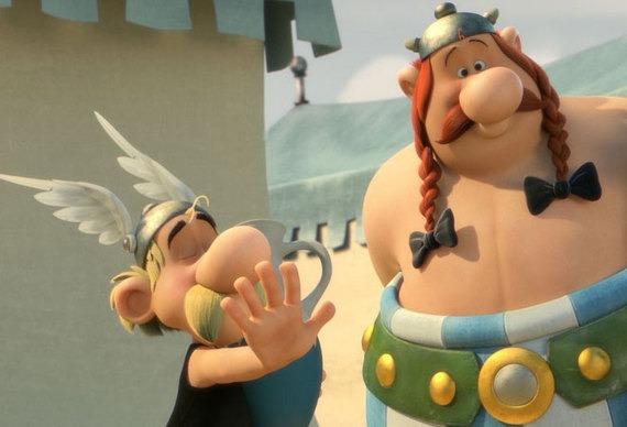 Le nouveau film d'animation Astérix dévoile son titre