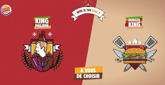 La nouvelle publicité de Burger King irrite le roi de Belgique