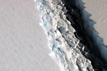 Antarctique : Un iceberg de 5000 km2 menace de se détacher