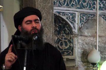Abou Bakr al Baghdadi, leader EI