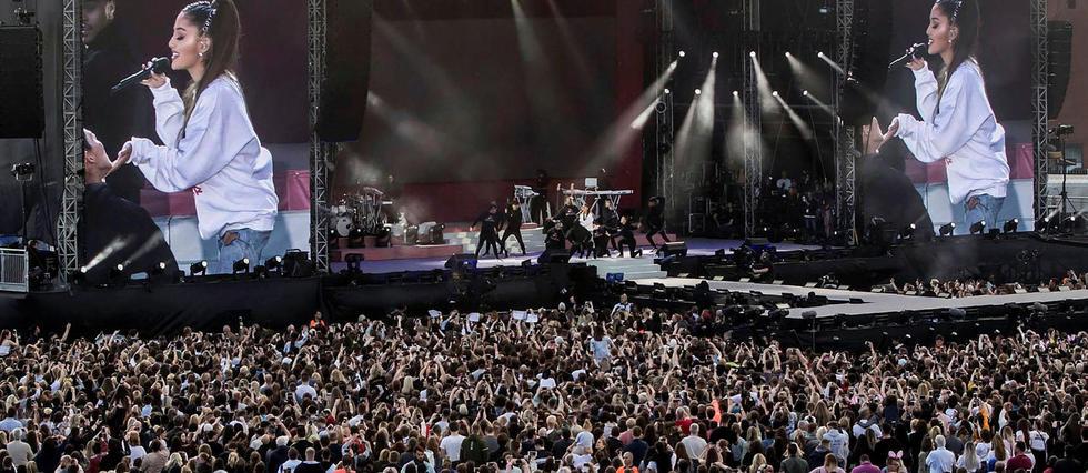 Concert One Love Manchester, donnée par Ariana Grande