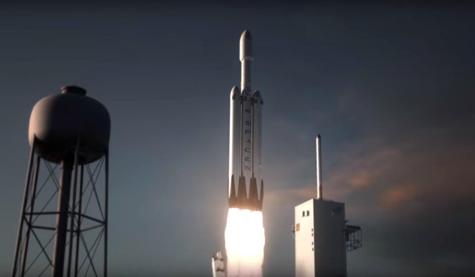 Le premier décollage de la fusée Falcon Heavy prévu pour cet automne