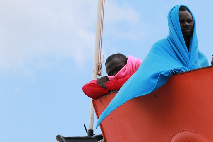 2500 migrants secourus en Méditerranée