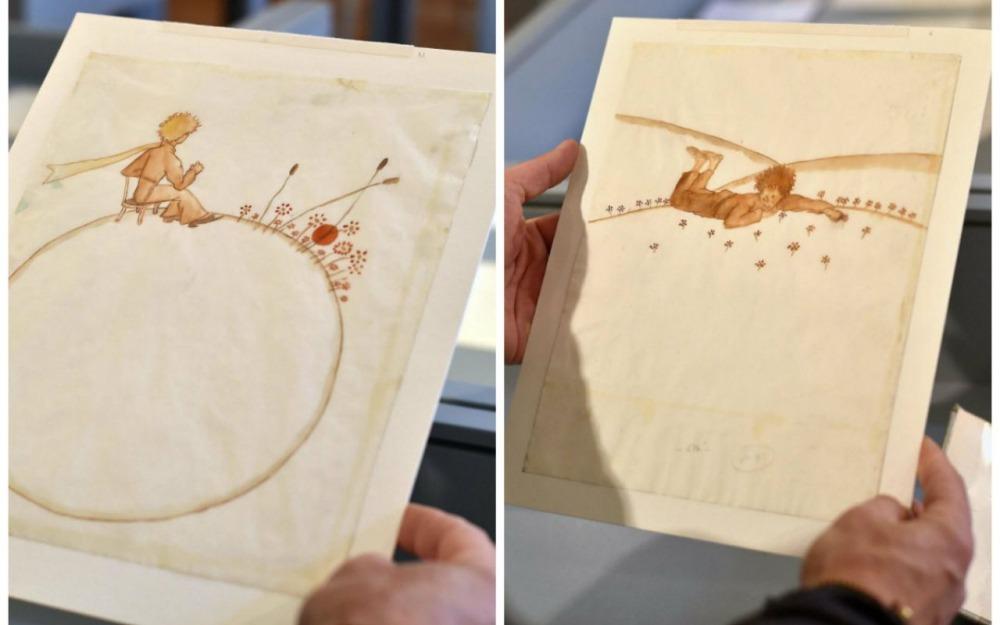 Deux aquarelles du Petit Prince vendues pour plus de 500 000 euros