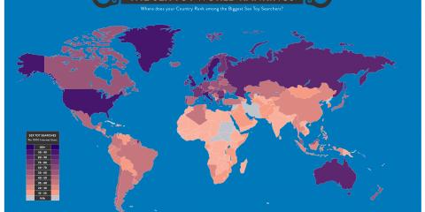 Quels sont les pays qui aiment le plus les sextoys ?