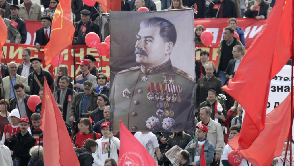 Pour 38% des Russes, Staline est la personne la plus remarquable au monde