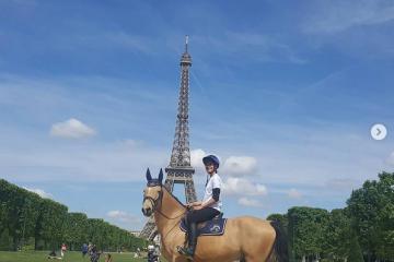 Un Cheval dans la Ville, la promotion du Longines Paris Eiffel Jumping