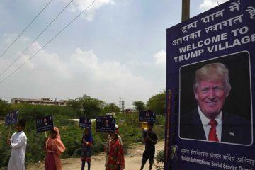 """Un village indien change de nom pour le """"Trump Village"""""""