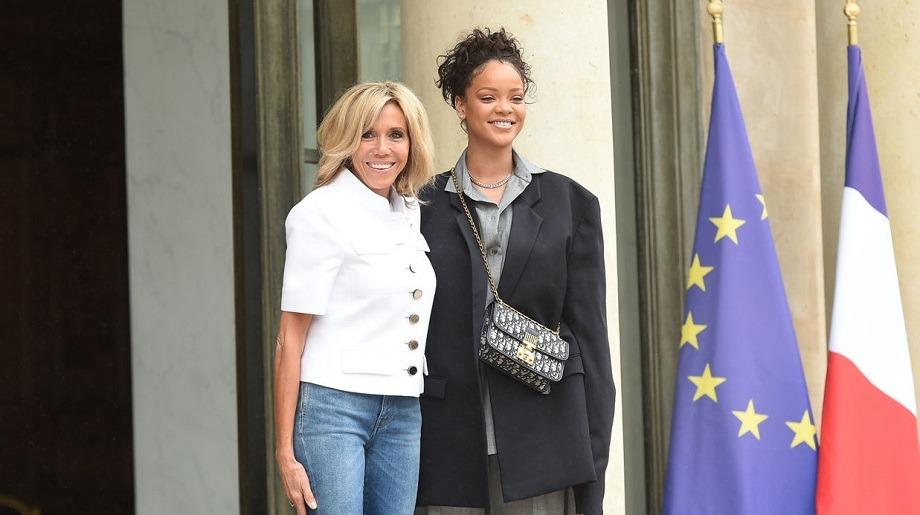 Macron Rihanna